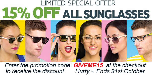 Sunnies Sale - Ends 31st October