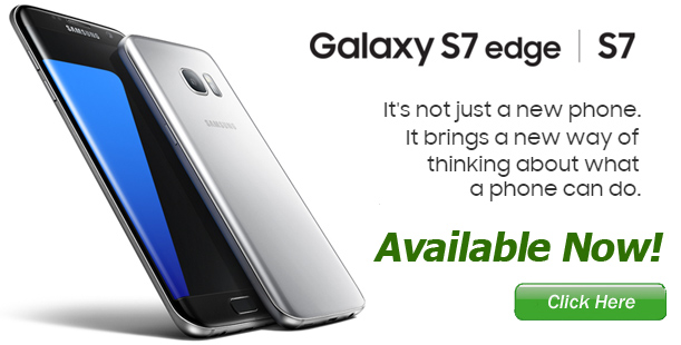 New Samsung Galaxy S7